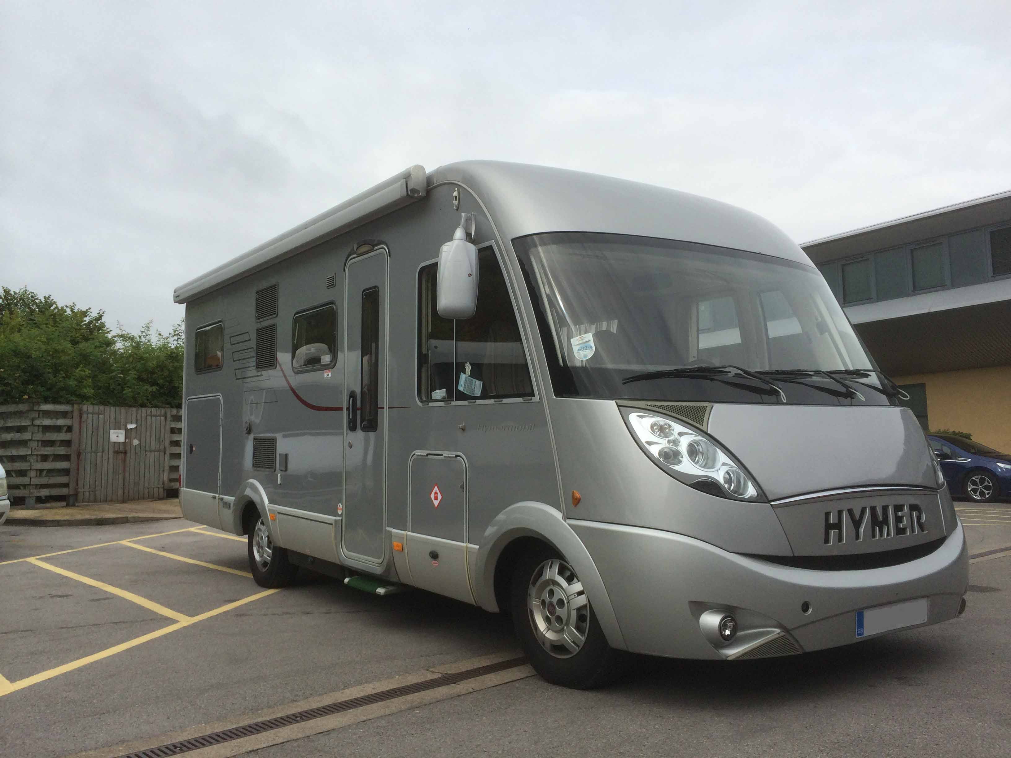 About our hymer motorhome vennwood the campervan nomads for Garage fiat carcassonne